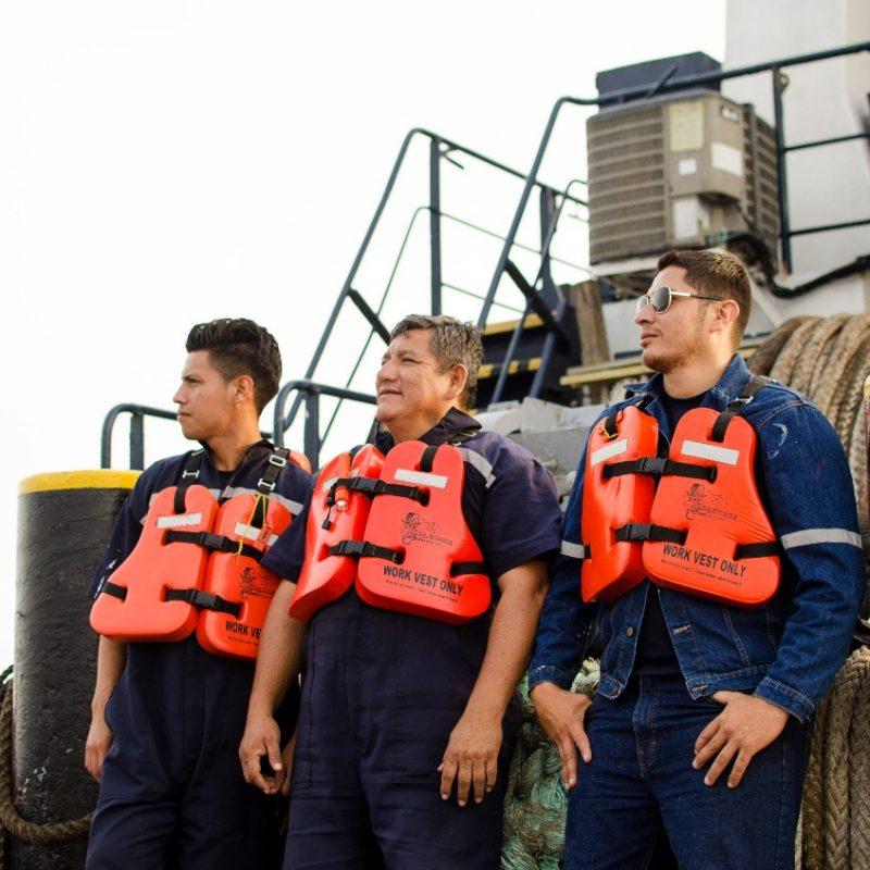 Nuestro equipo de trabajo y logistica marítima